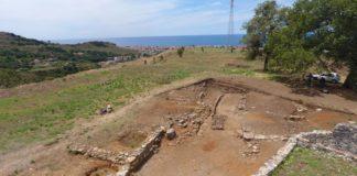 Nuovi ritrovamenti nel parco archeologico dell'antica città di Blanda a Tortora