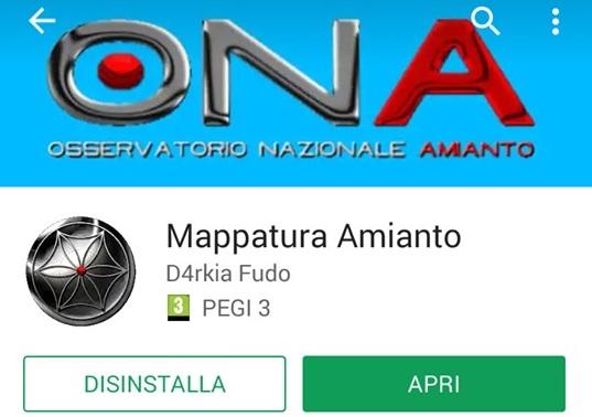 Nasce 'Mappatura amianto', la app telefonica che consente la segnalazione dei siti contaminati