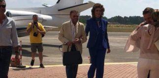 Sophia Loren strega la costa tirrenica: prima atterra a Scalea, poi incanta Maratea