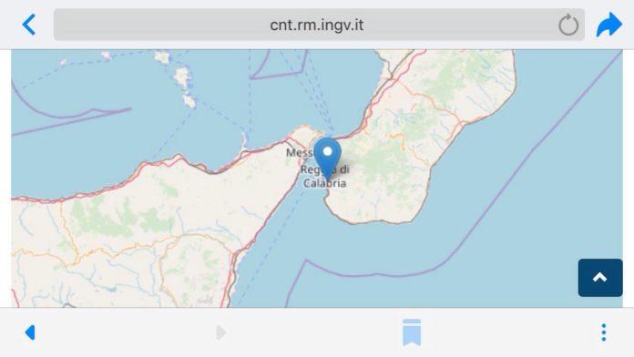 Reggio Calabria: terremoto di magnitudo 2,3 a 10 km di profondità