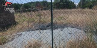 Parco Pignera di Crotone, cittadini fotografano autospurgo che sversa liquami