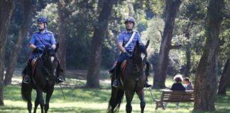 Contrasto alla droga e perlustrazione, a Serra San Bruno arrivano i carabinieri a cavallo