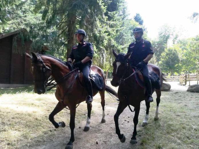 Da Rossano a Cetraro, Carabinieri a cavallo per la prevenzione dei reati ambientali