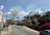 Roccella Jonica, incendio distrugge il parco del castello 'Carafa della Spina'