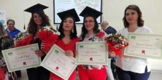 Prime 'lauree' all'Università del Volontariato di Cosenza