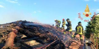 Incendio in una stazione ferroviaria nel Catanzarese