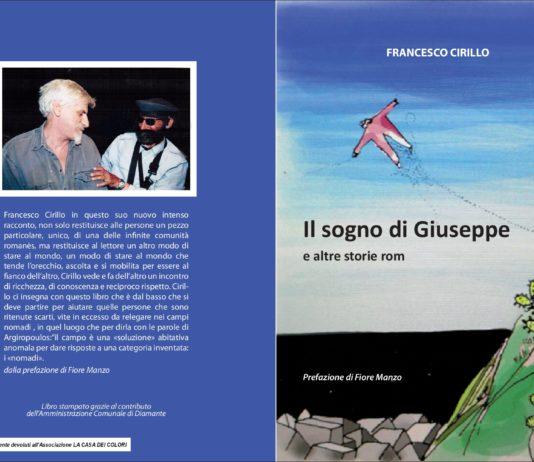 Il sogno di Giuseppe, la presentazione del nuovo libro di Cirillo venerdì 13 luglio al Dac di Diamante