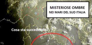 Meteo.it: «Misteriose ombre nei mari del sud Italia, cosa sta succedendo?»