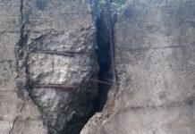 Paura a Maratea: «Quella strada è una trappola e potrebbe aprirsi da un momento all'altro»