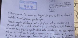«Il sindaco di Sellia Marina rifiuta i cittadini che offrono un dono»