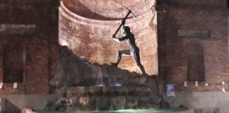 Catanzaro, strisce blu: la singolare protesta dei militanti di Casapound