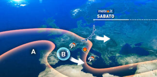 Meteo Italia, weekend piovoso: temporali al Centro-sud, possibili rovesci al nord