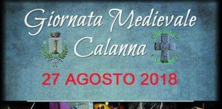 Calanna, domani 27 agosto il corteo storico