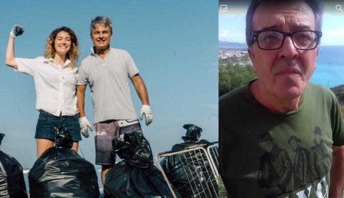Scalea, la lezione di civiltà di tre turisti: ripuliti spiagge e terreni