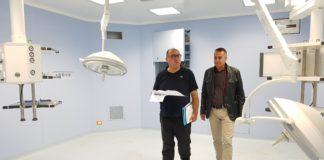 Carlo Guccione visita l'ospedale di Castrovillari: «È nell'abbandono più totale»
