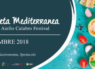 Aiello Calabro, il 14 e il 15 settembre il Festival della Dieta Mediterranea