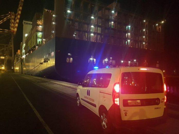 Gioia Tauro, nave viola norme inquinamento: sequestro