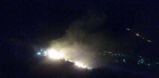 PRAIA A MARE / Le immagini dell'incendio che sta devastando la zona Laccata
