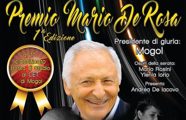 Praia a Mare, Melisma dà il via al '1° Festival della Canzone Mario De Rosa' con Mogol