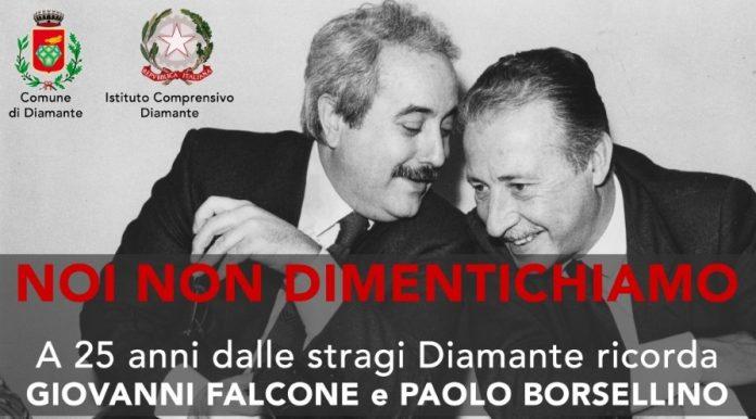 Diamante   Domenica il ricordo di Falcone e Borsellino con il ministro Minniti, l'onorevole Magorno e il Procuratore Bruni