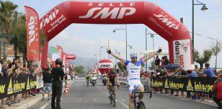 Tortora (Cs)   Giro d'Italia Amatori, prima tappa nel segno di Sirio Sistarelli ed Elena Cairo
