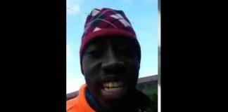 Ragazzo di colore che se la prende ironicamente con gli immigrati in dialetto cosentino - IL VIDEO
