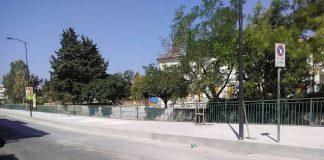 Scalea (Cs), lavori in corso in via Minniti per il ripristino dei marciapiedi - LE IMMAGINI