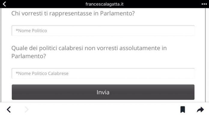 [SONDAGGIO] 'Vota il parlamentare calabrese', apri il link ed esprimi le tue intenzioni di voto