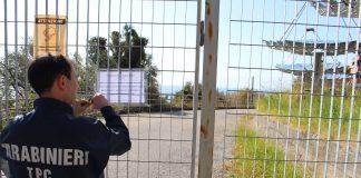 Sequestro impianto a energia solare di Cetraro, i dettagli dell'operazione