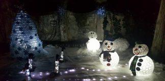 A Sangineto il 'Natale delle meraviglie' grazie ai materiali riciclati