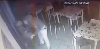 [VIDEO] Alto Tirreno, malvivente tenta di incendiare un bar a Grisolia: le immagini drammatiche