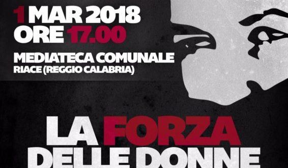 'La Forza delle Donne', il tour continua: domani tappa a Riace (RC)