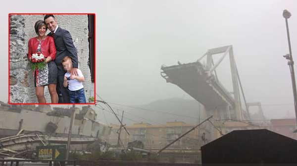 Sangue calabrese sotto le macerie di Genova: distrutta un'intera famiglia