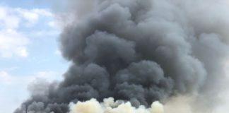 San Marco Argentano, incendio in centro commerciale