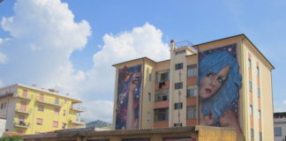 Operazione Street Art 2018 a Diamante, la soddisfazione di Maiolino