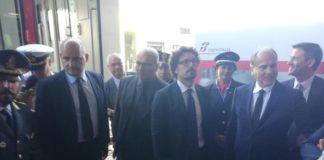 Reggio Calabria, ministro Toninelli inaugura nuovi Intercity